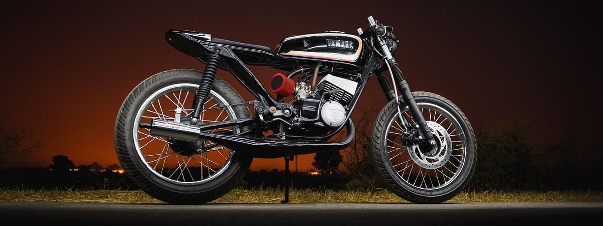 Café racers require minimum alterations and effort to go fast