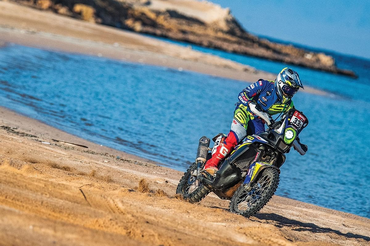 TVS Racing Diaries | A look back at Harith Noah's performance in the 2021 Dakar