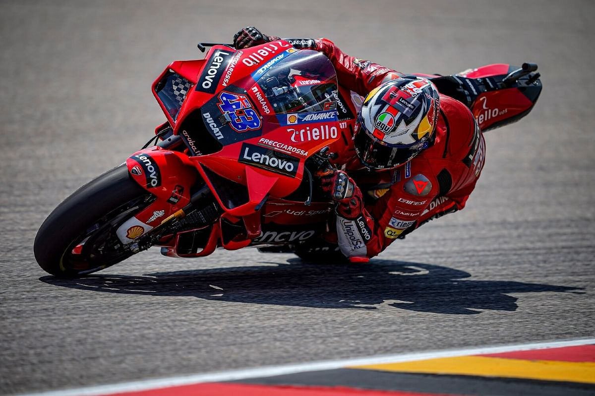 Jack Miller could not maintain a race pace for a podium finish