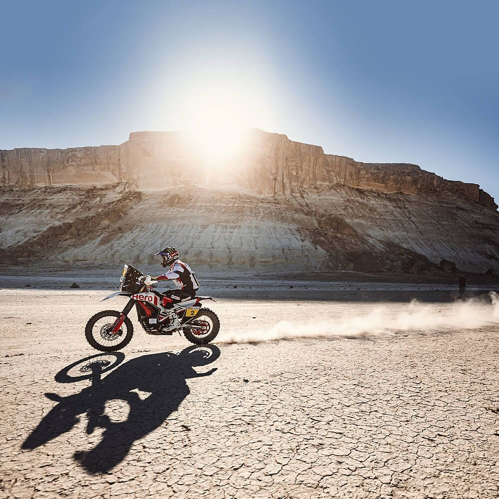 Hero MotoSport Rally Team hold strong ground in the Kazakhstan Rally 2021