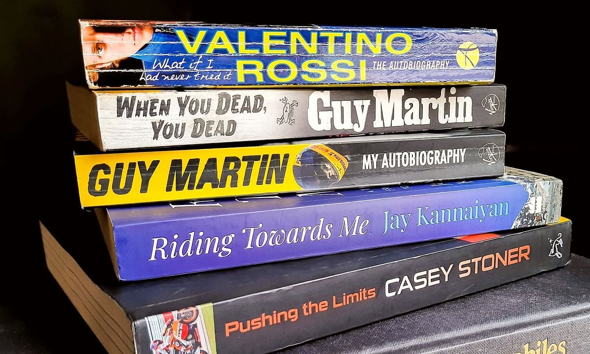 Five books every motorcyclist should read