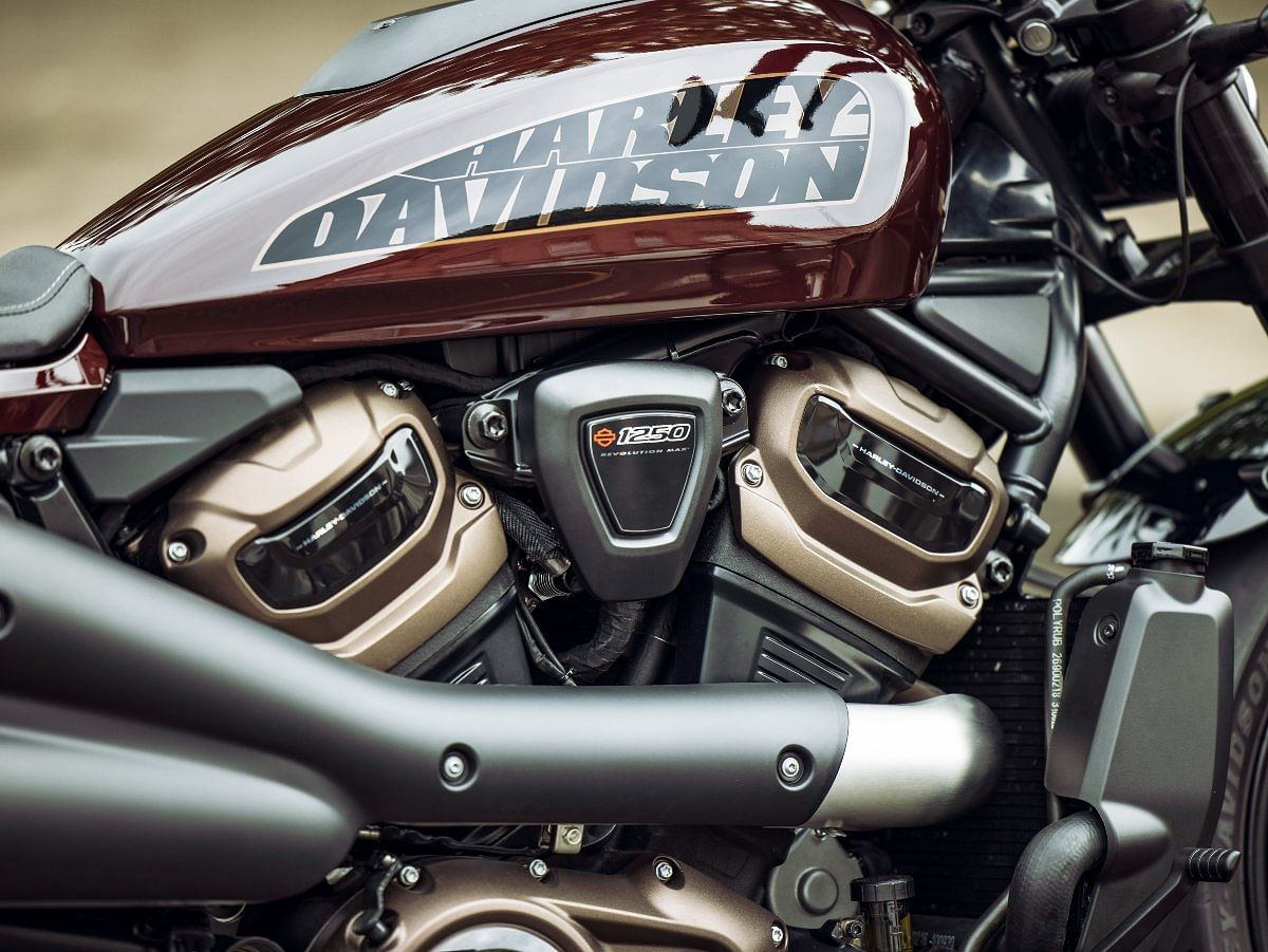 The Revolution Max V-Twin engine makes its way onto the Harley-Davidson Sportster S