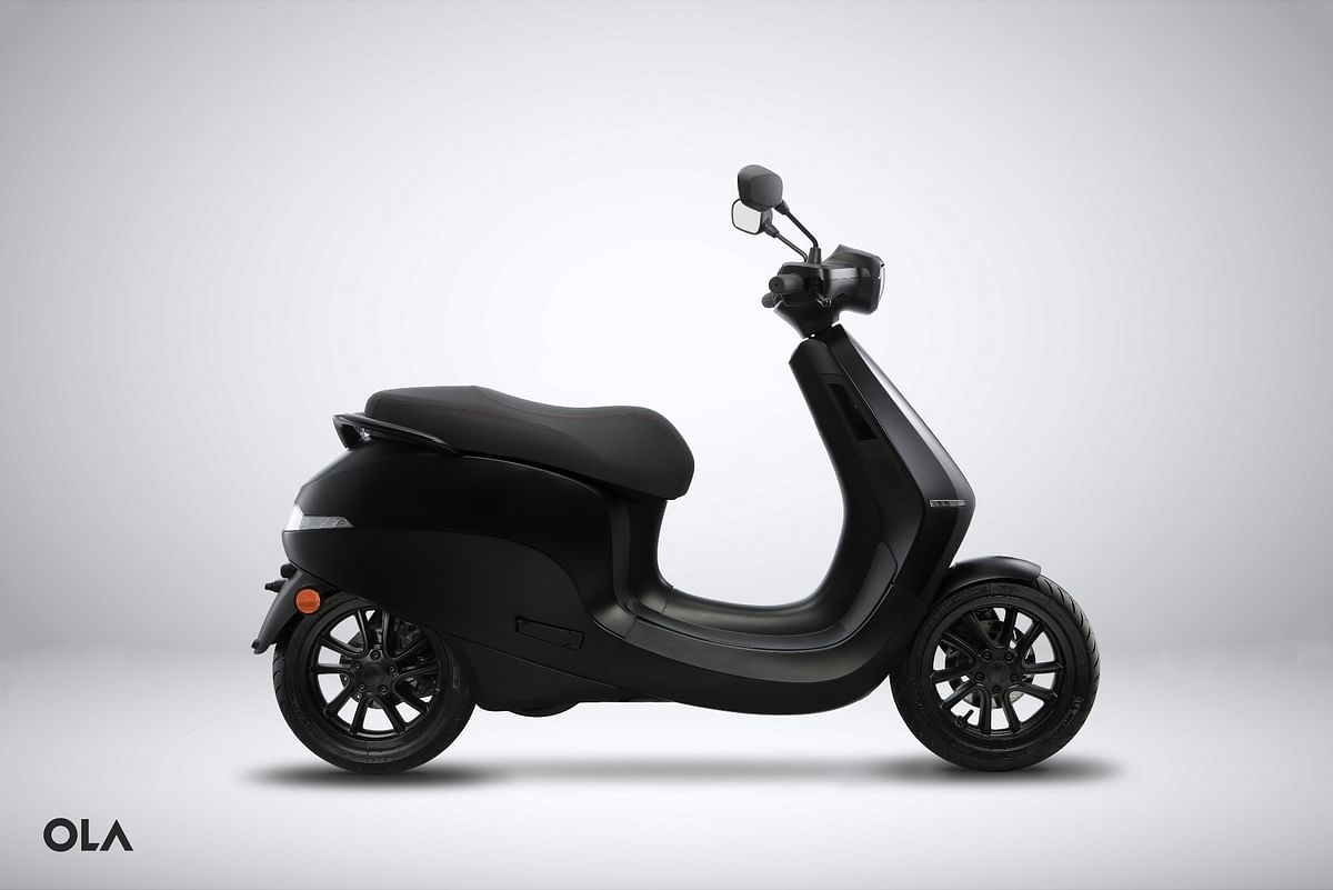 Ola Electric will offer the Ola Scooter with 10 colour options