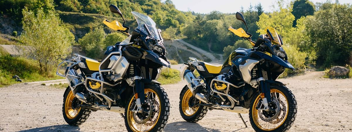 The BMW R 1250 GS will have a limited edition '40 Years GS' livery to celebrate origins of GS family