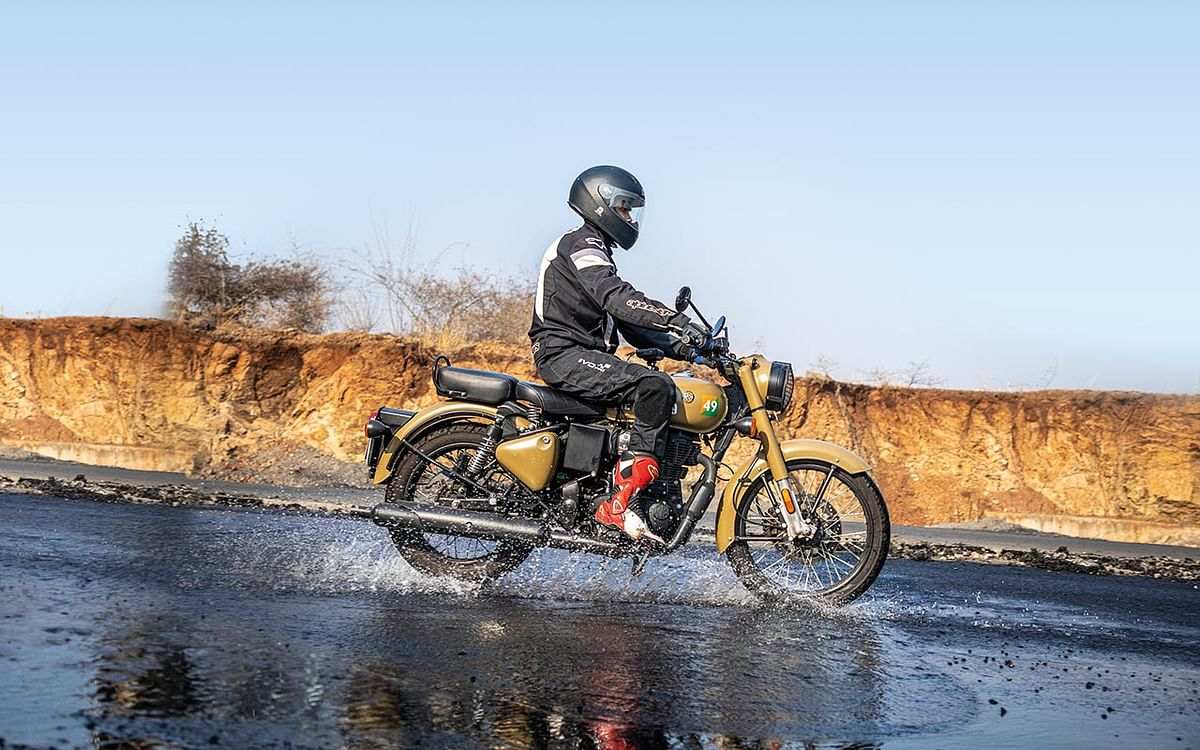 Braking distance reduces significantly in wet conditions so a tyre has to  channel out water readily to offer grip
