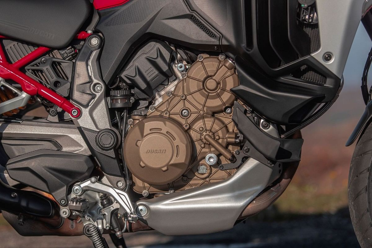 The V4 engine comes with an increased clearance interval of 60,000 km
