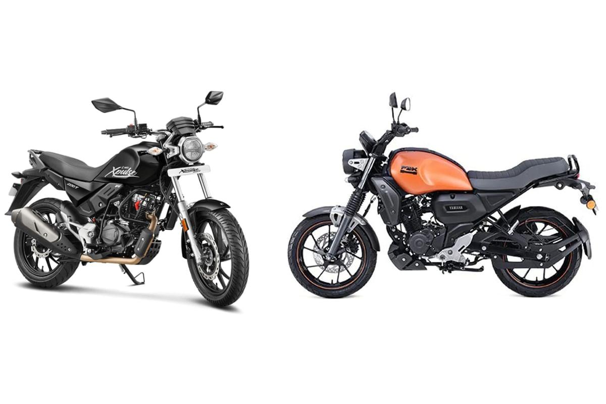 Yamaha FZ-X vs Hero Xpulse 200T Specification Comparison