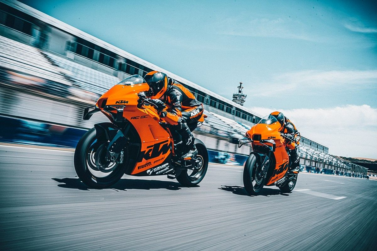 25 lucky customers get a chance to join the Red Bull KTM racing team for a one-off track day event