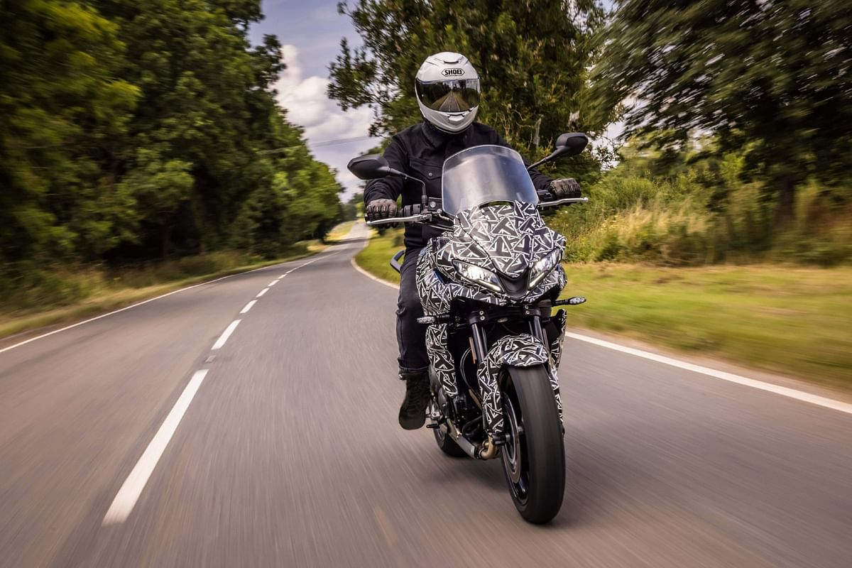 The Triumph Tiger Sport 660 is set to be revealed in October this year