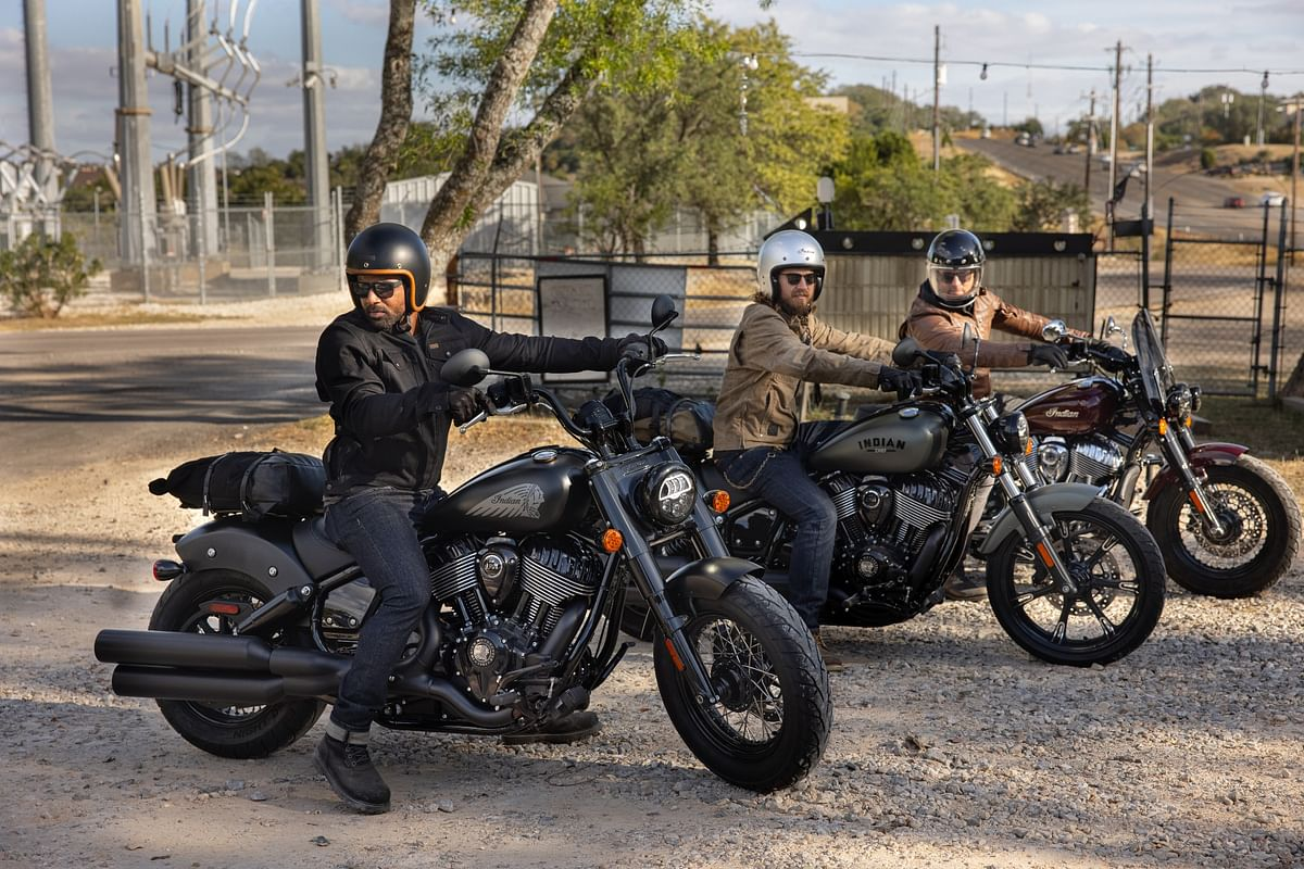 The updated 2022 Indian Chief lineup comprises of the Indian Chief Dark Horse, the Bobber Dark Horse, and the Super Chief Limited