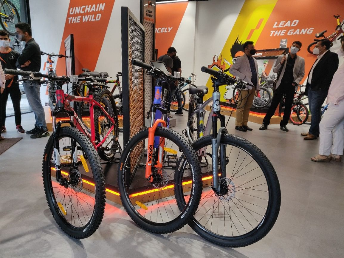 The latest collection of bikes get a centre stage at the new Firefox Experirnce Centre