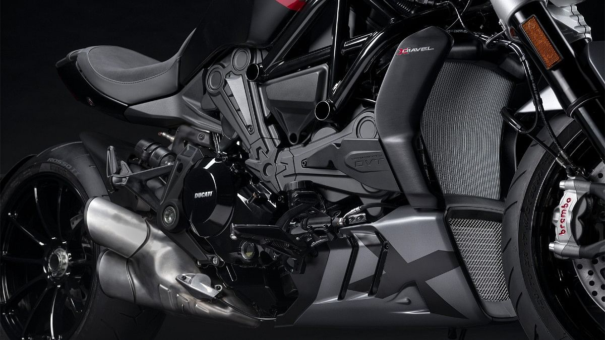 The large radiator helps keep the 1262cc engine cool