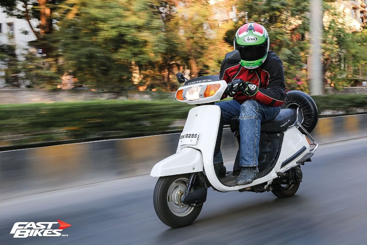 The original modern-day scooter, Kinetic Honda