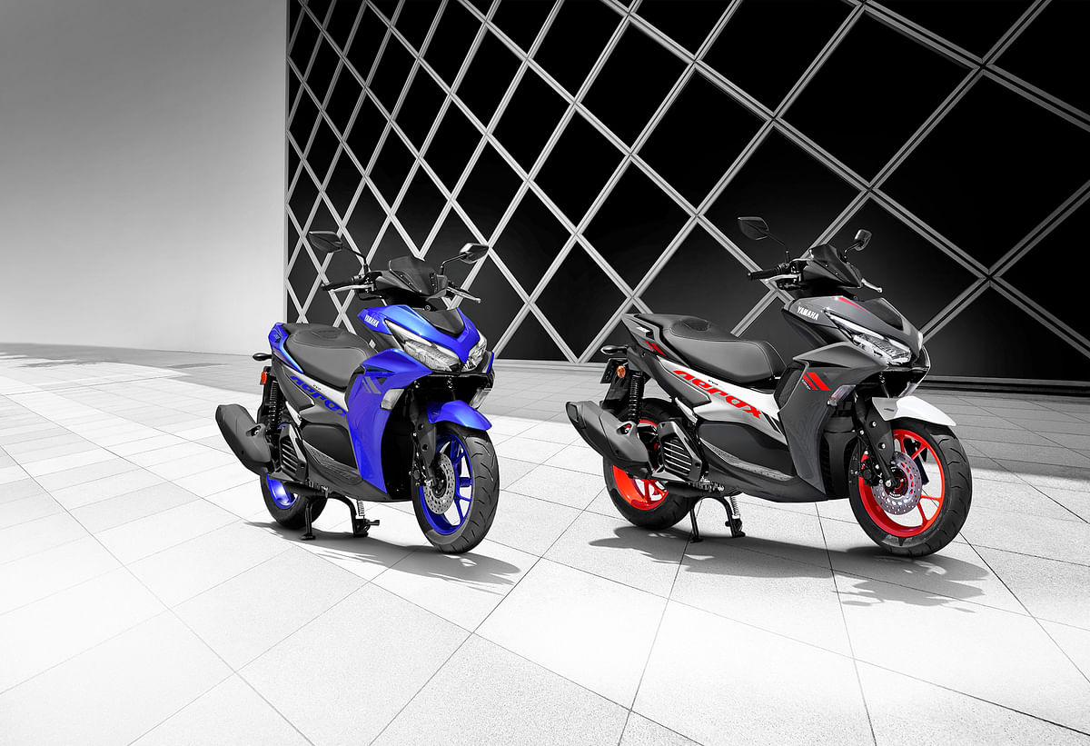 Yamaha Aerox 155 scooter launched at Rs 1.29 lakh
