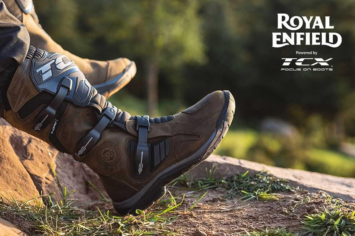Royal Enfield partners with TCX boots, launches a range of riding shoes