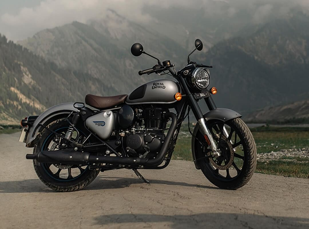 There is a major chassis upgrade on the new Classic 350 as compared to the outgoing model