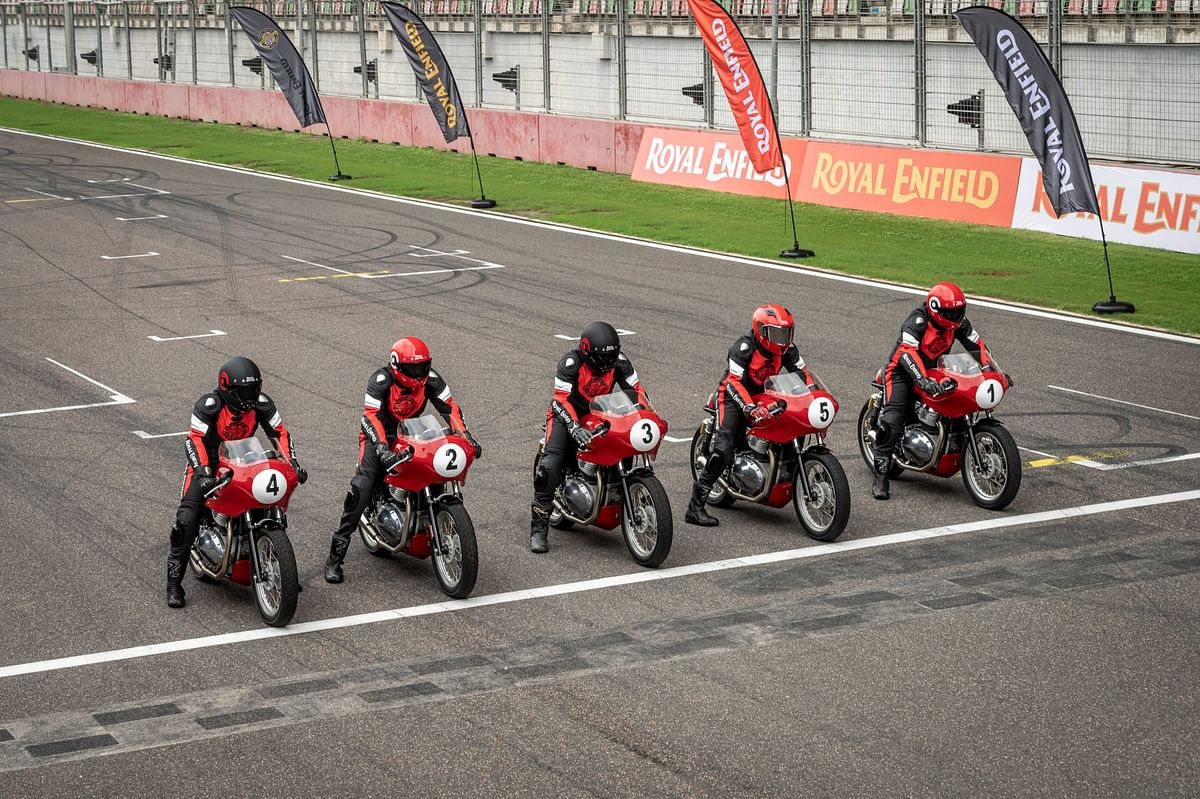 100 riders will be selected for the Rider Selection Programme of the Royal Enfield Continental GT Cup