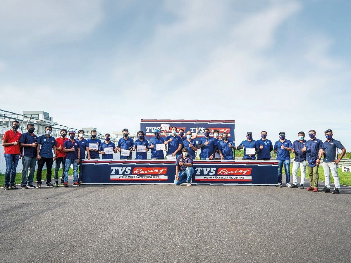TVS Racing doesn't just educate but also gives a platform to young riders
