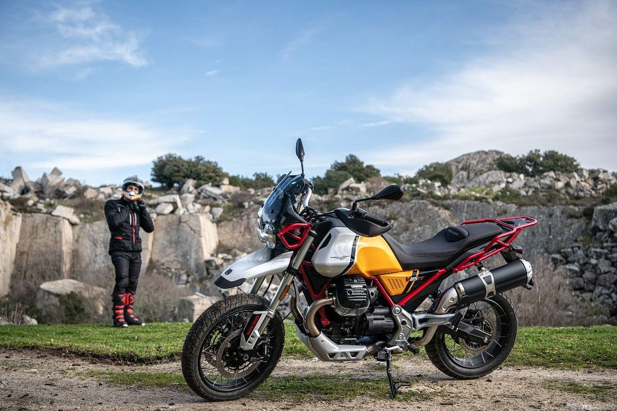 Moto Guzzi V85 TT gets five riding modes