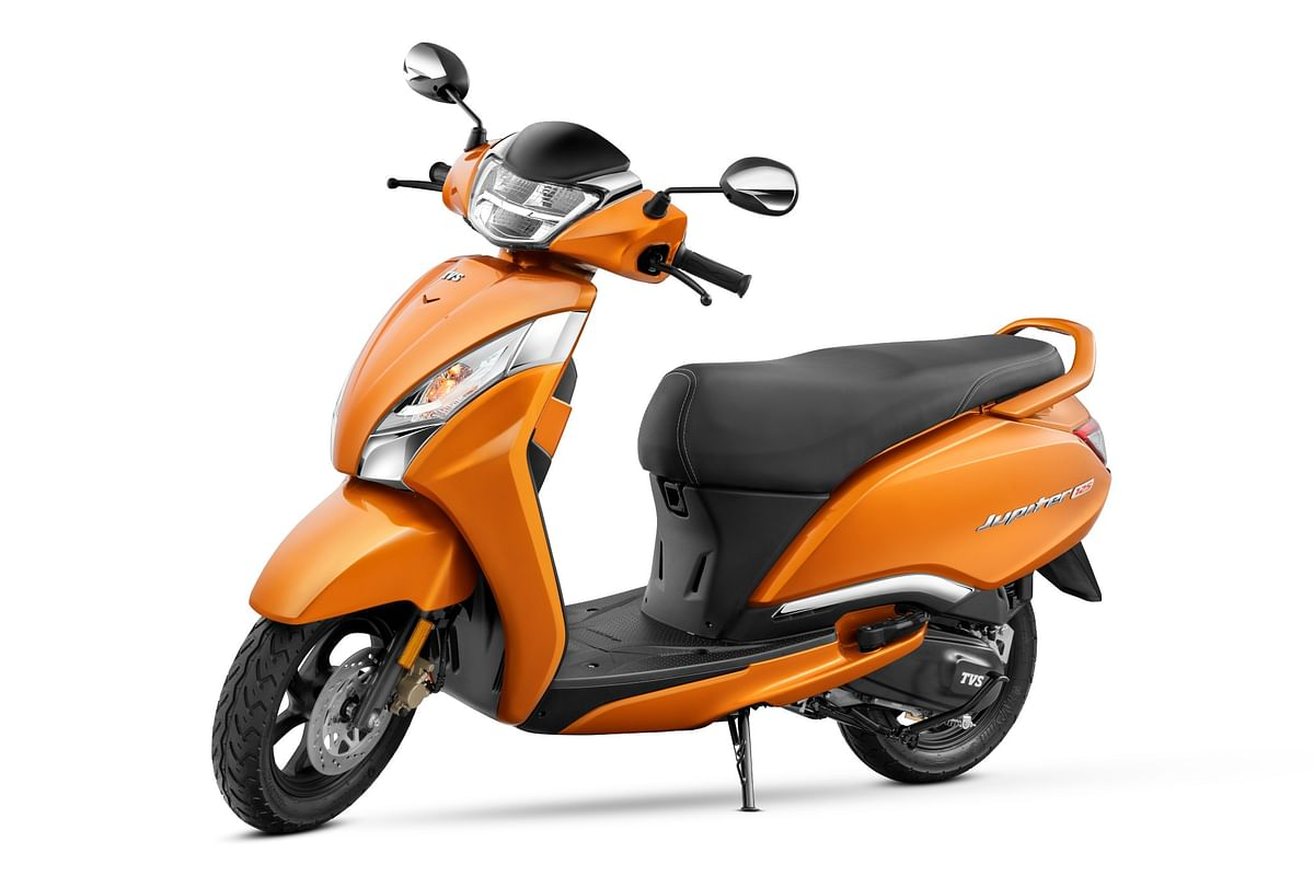 TVS Jupiter 125 launched, priced at Rs 73,400