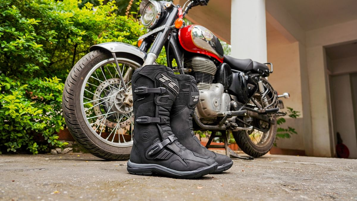 The TCX Stelvio WP riding boots strike the perfect balance between comfort and safety