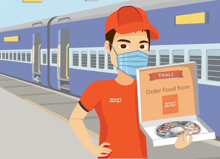 Zoop redefines online food ordering on train journeys