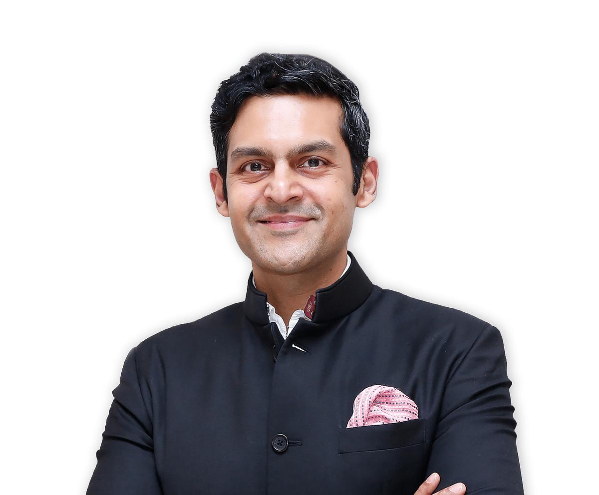 Rudra Chatterjee, managing director, Luxmi Group of Companies, chairman Makaibari Tea