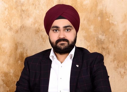 Avneet Singh, founder of Medusa Beverages