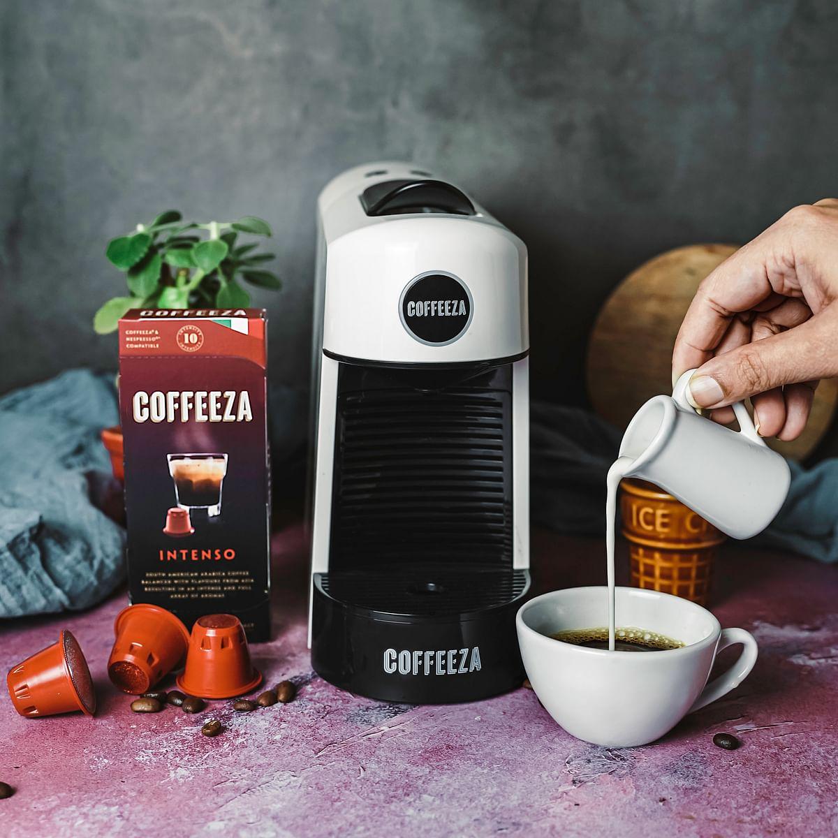 Coffeeza launches new coffee capsules and coffee machine