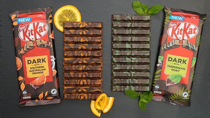 Discover Nestlé KitKat dark down under