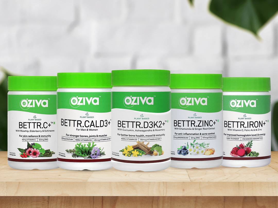 OZiva launches plant-based vitamins and minerals