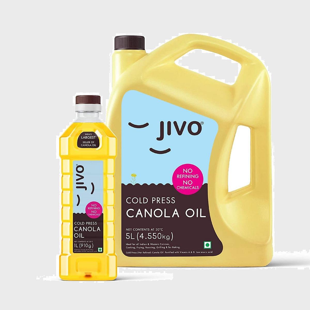 Jivo Canola oil for Navratri cooking