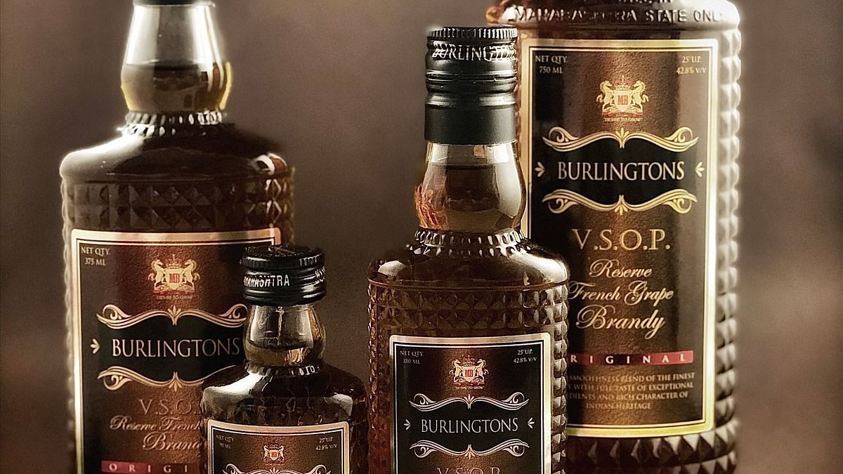 Mohan Brothers launches VSOP French grape Burlingtons brandy