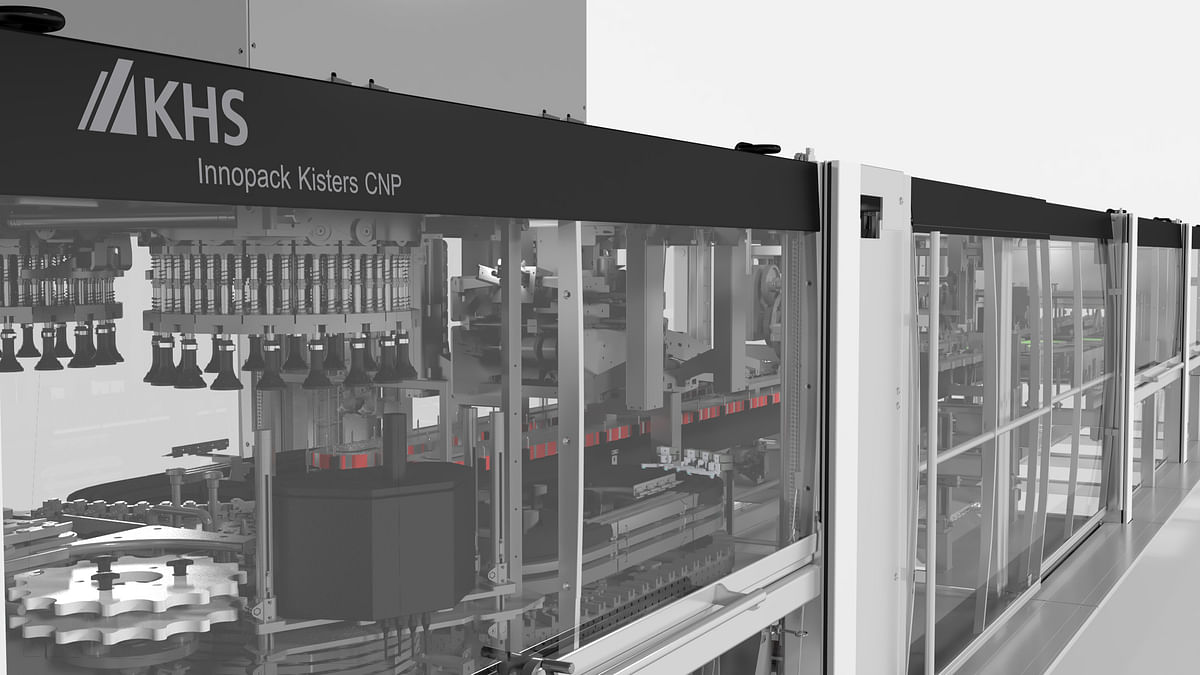 New KHS machine processes can toppers made of cardboard