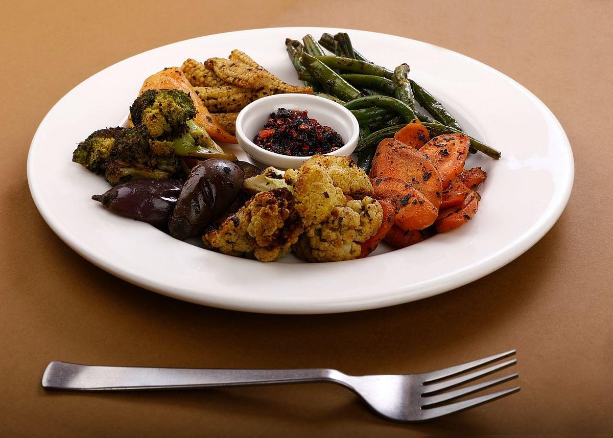 Myints grilled veggies