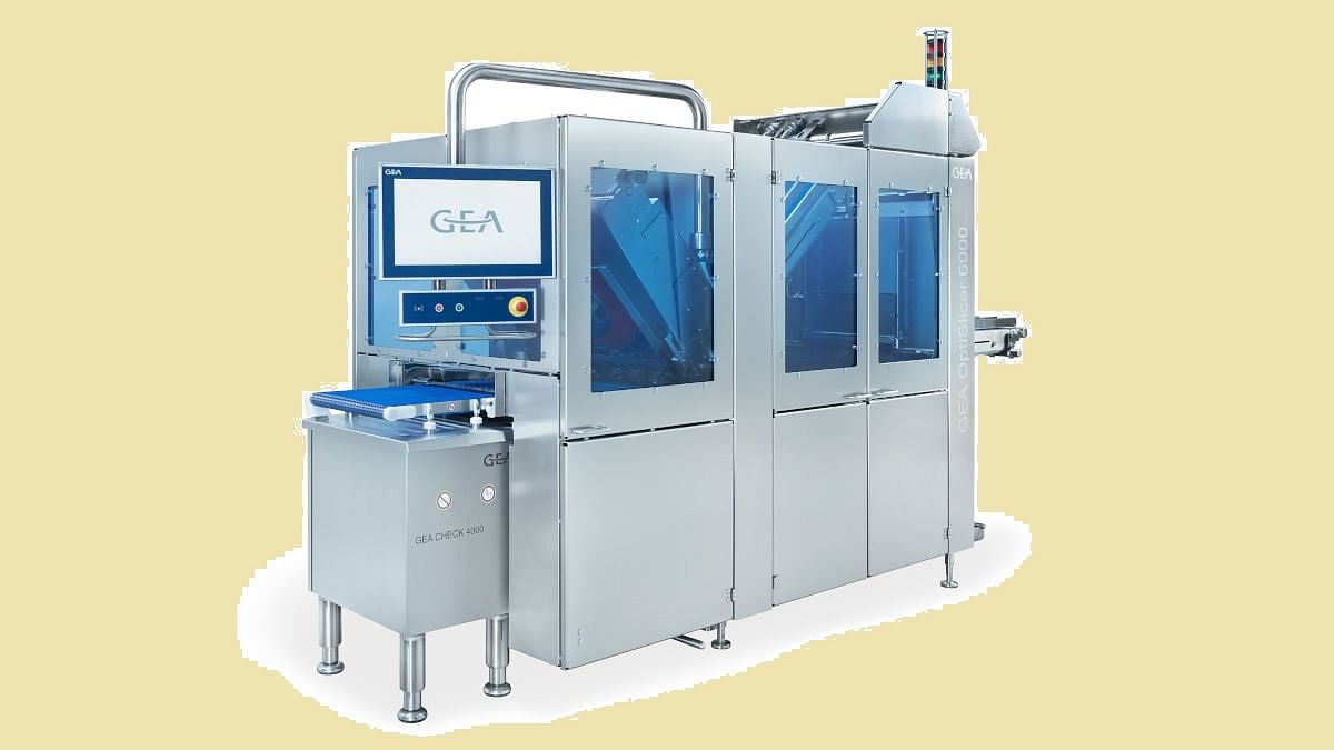 GEA OptiSlicer 6000 for meat and cheese precision slicing
