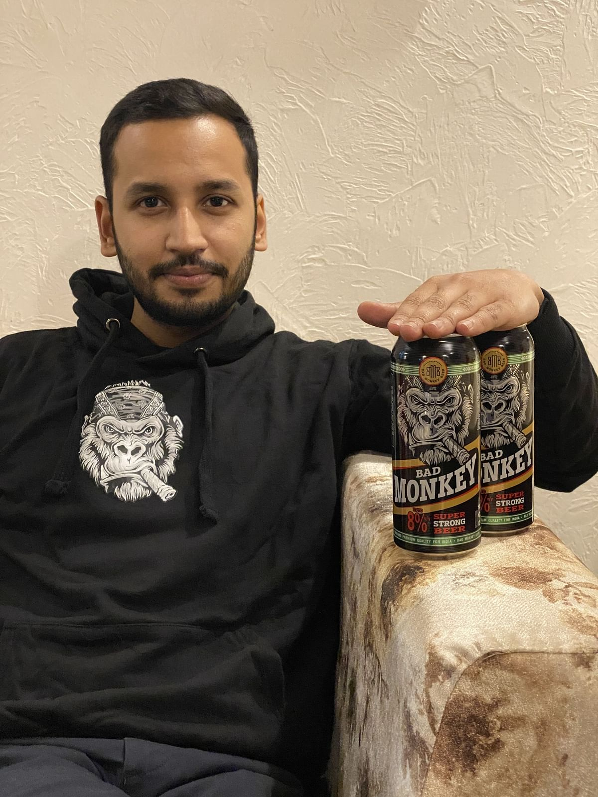 Rohan Khare, founder of Bad Monkey beer