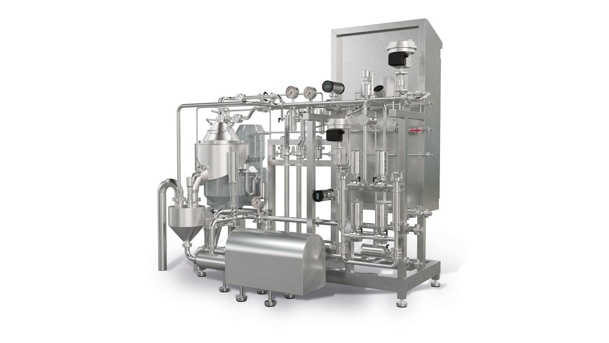 The standard scope of KDB 3 supply includes a pre-piped and wired skid. Additional options are available for the new KDB 3 skid, providing an optimized process flow control.