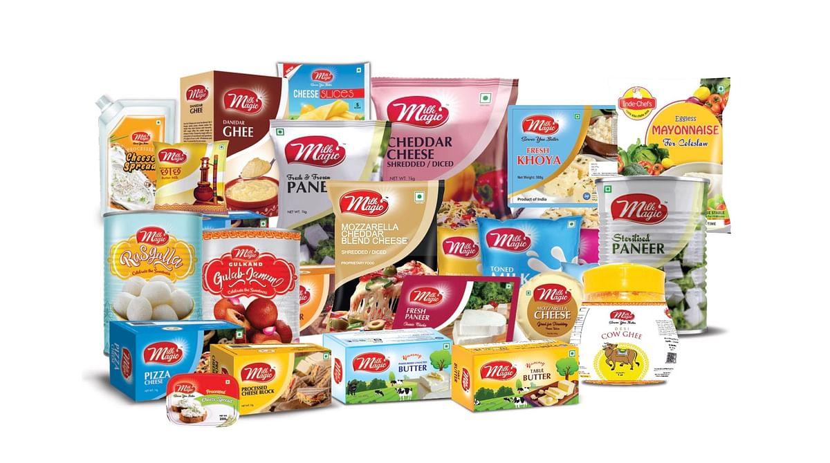 Product portfolio of Milk Magic
