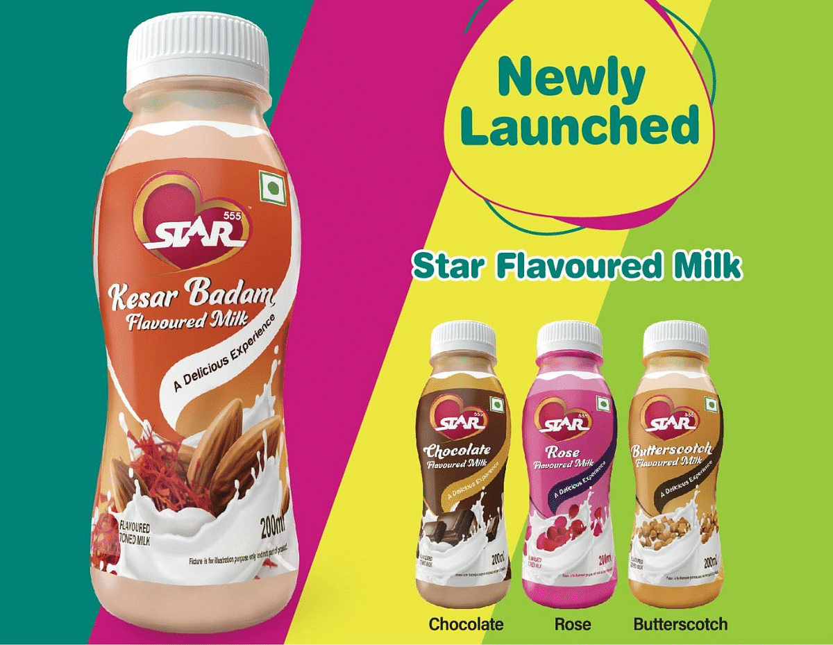 Ghodawat Consumer launches Star flavored milk