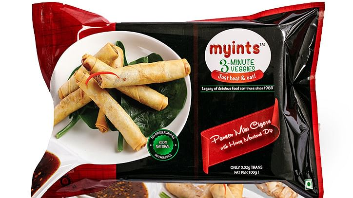 Myints 3-minute Veggies offers convenience & taste with a twist