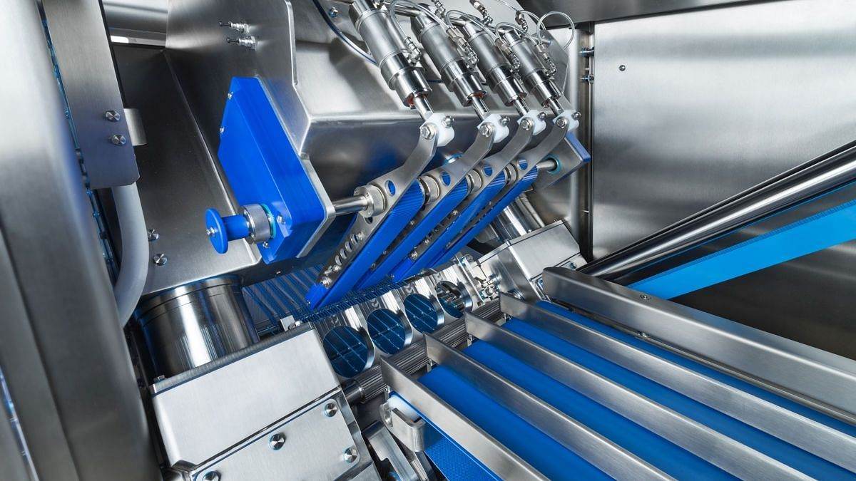 GEA OptiSlicer 6000 – Regularly shaped products are processed without any problems