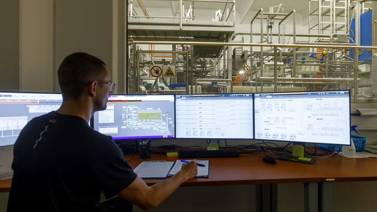 GEA Codex software provides complete control and monitoring of the cheese-making process GEA