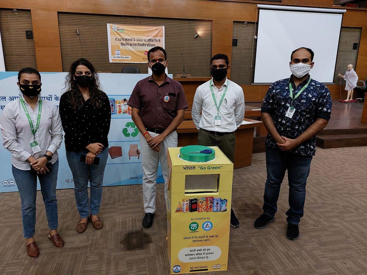 Tetra Pak & Kabadiwala to increase recycling of used carton packs