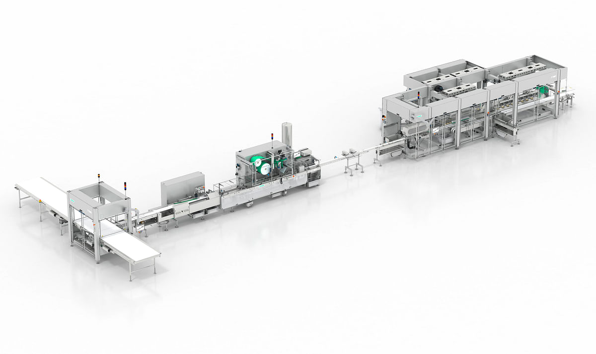 As part of its expansion and modernization plans, Leclerc acquired a total of two new state-of-the-art bar systems from Syntegon Technology for its sites in Canada and the US