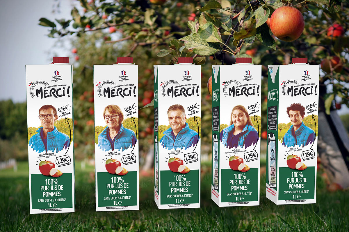 Intermarché opts SIG SIGNATURE for the launch of pure apple juice