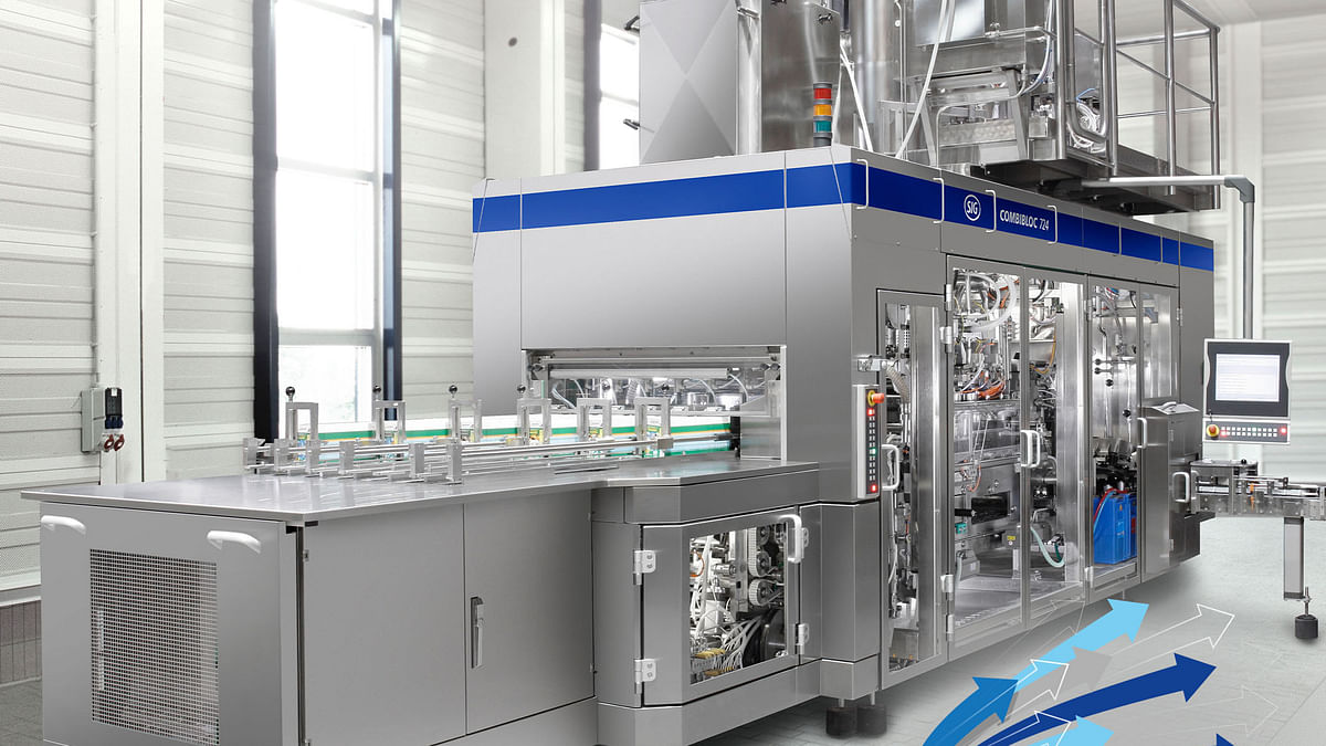 SIG's upgraded CFA724 filling machine combines speed & flexibility
