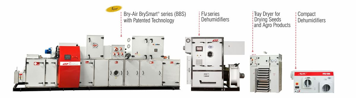 Bry-Air dehumidifies for food processing industry