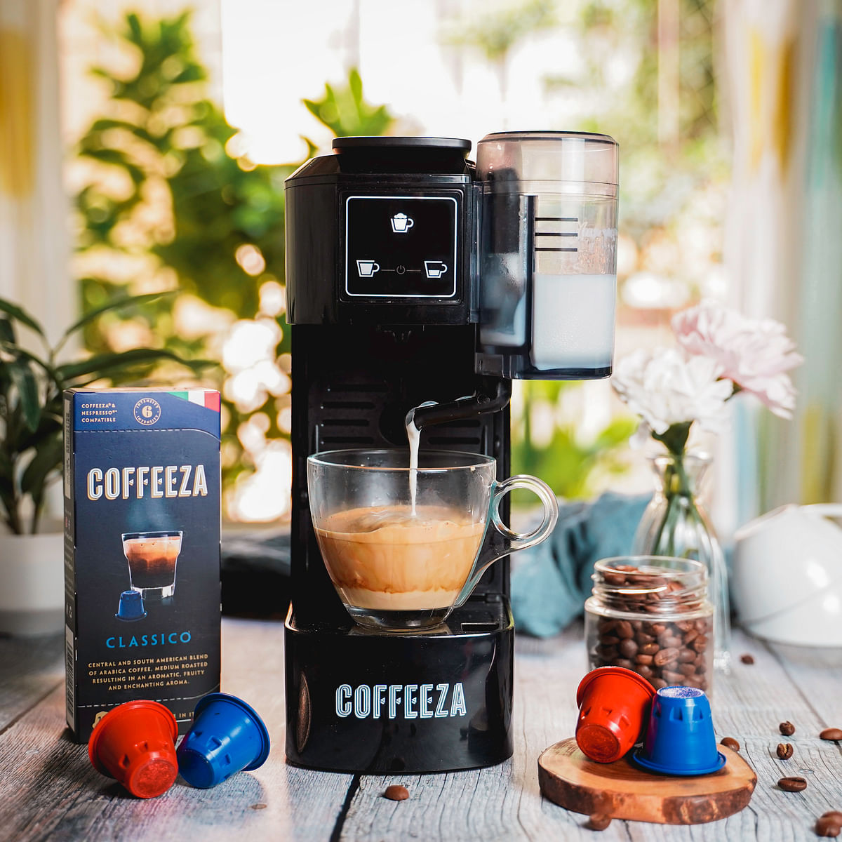 Coffeeza launches one-touch cappuccino machine in India