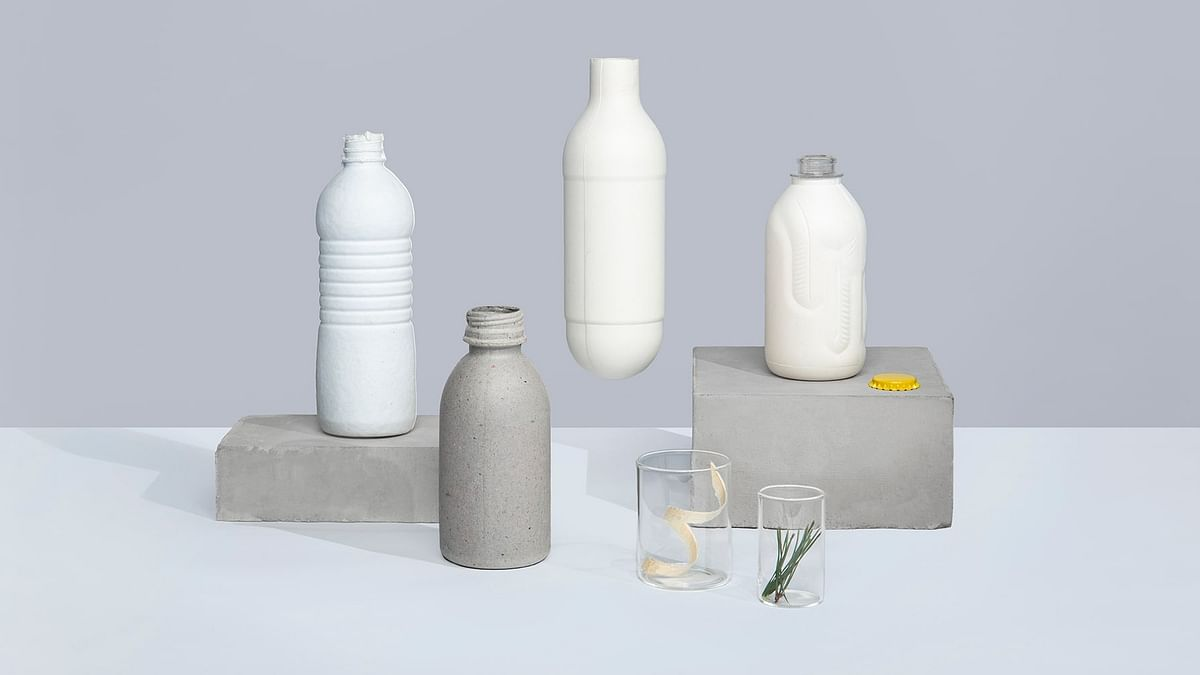 Paboco makes the paper bottle interactive to encourage recycling